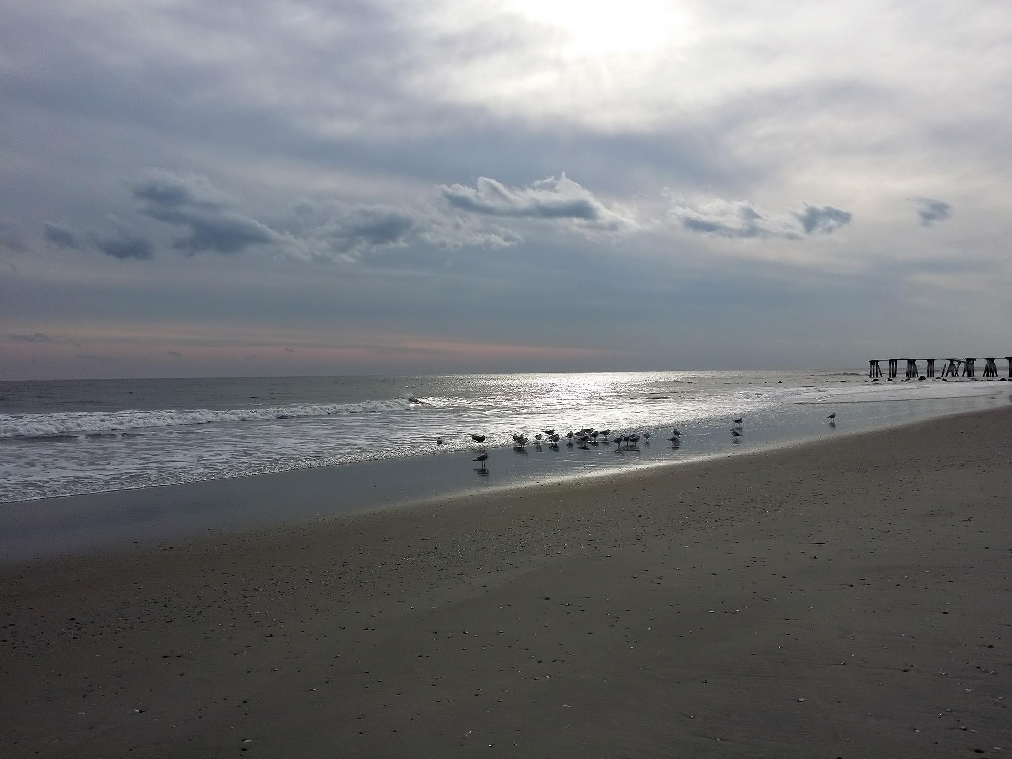 The Beach at Atlantic CIty