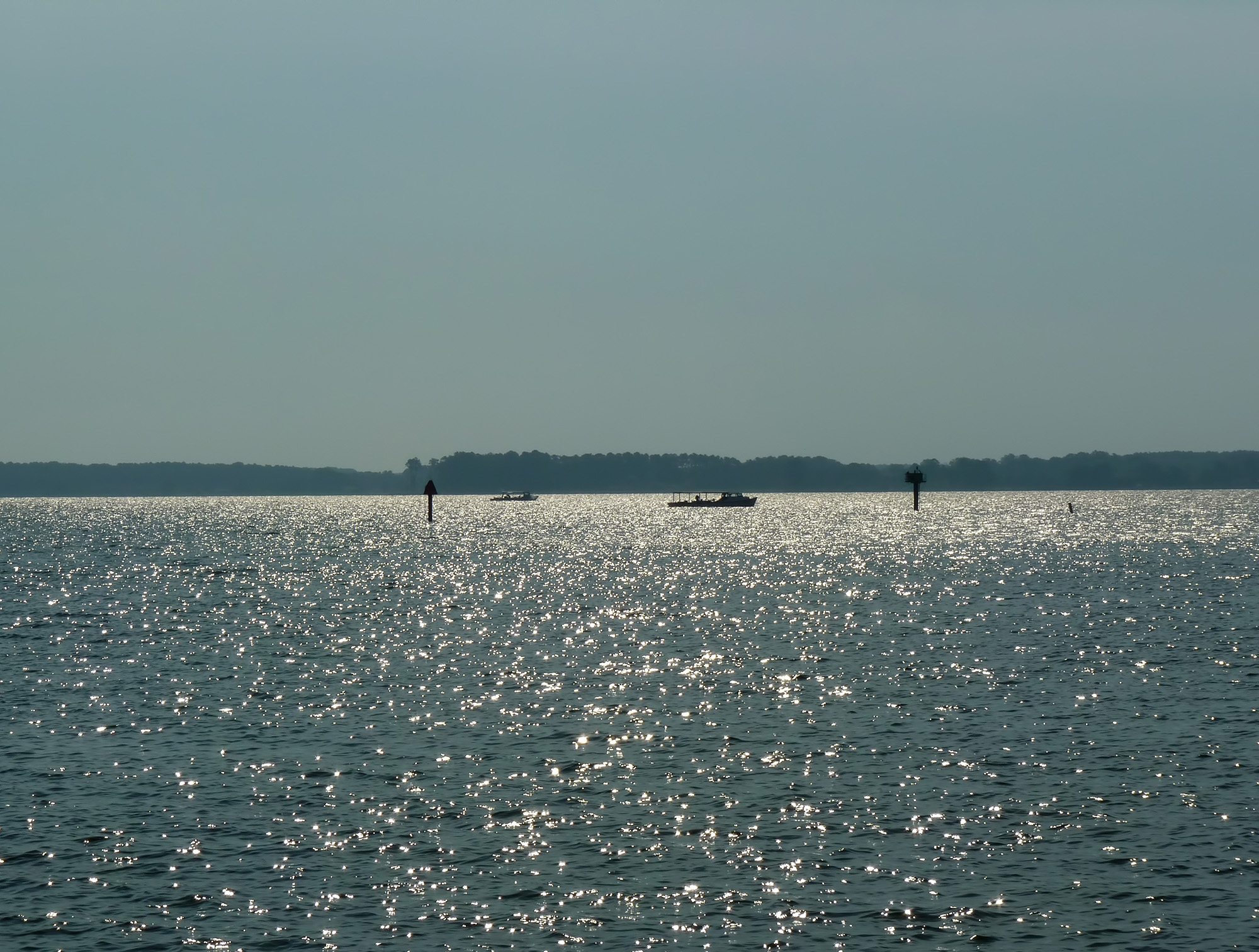 The Eastern Shore waters