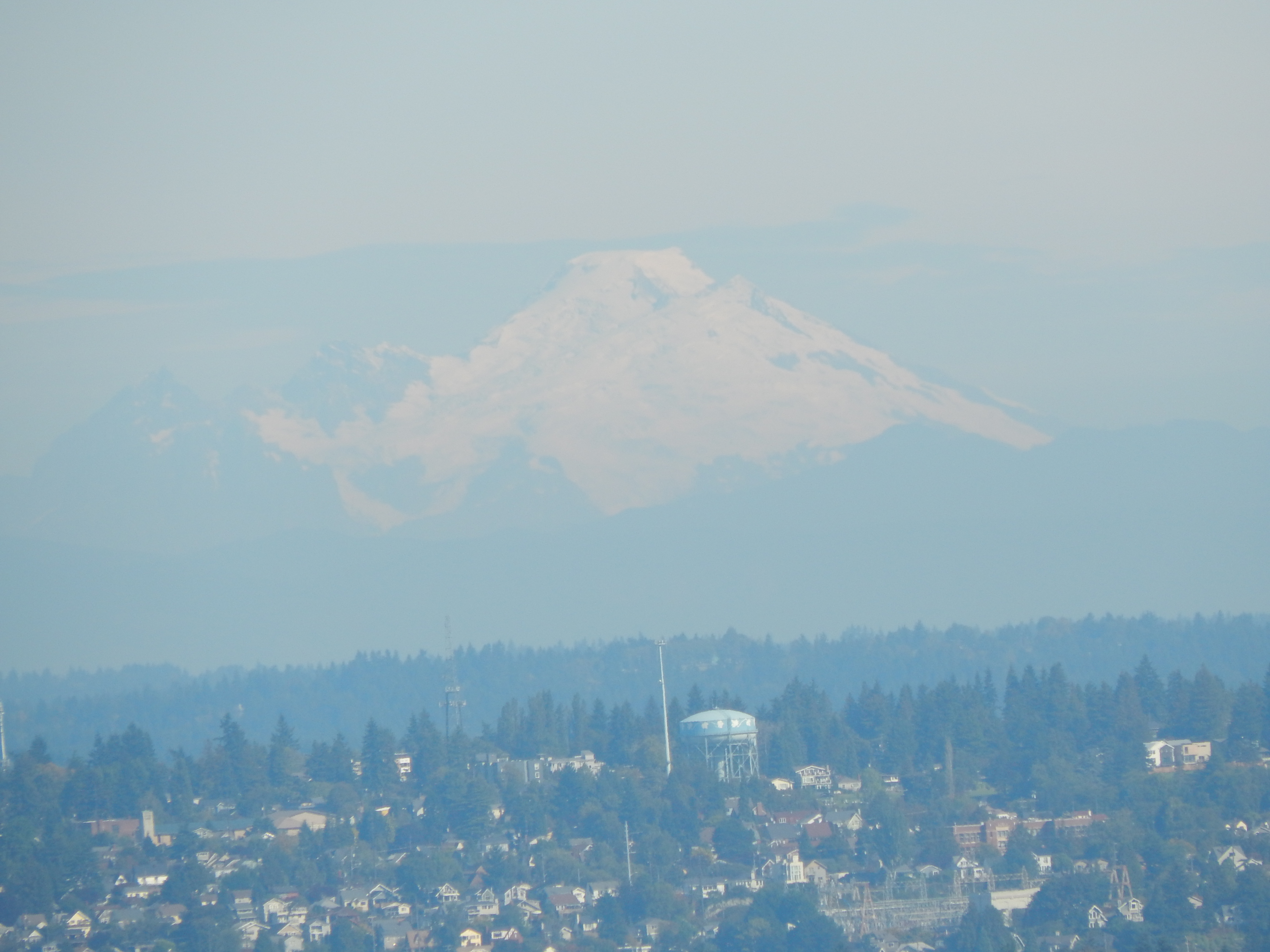 Mount Baker from the Space Needle.