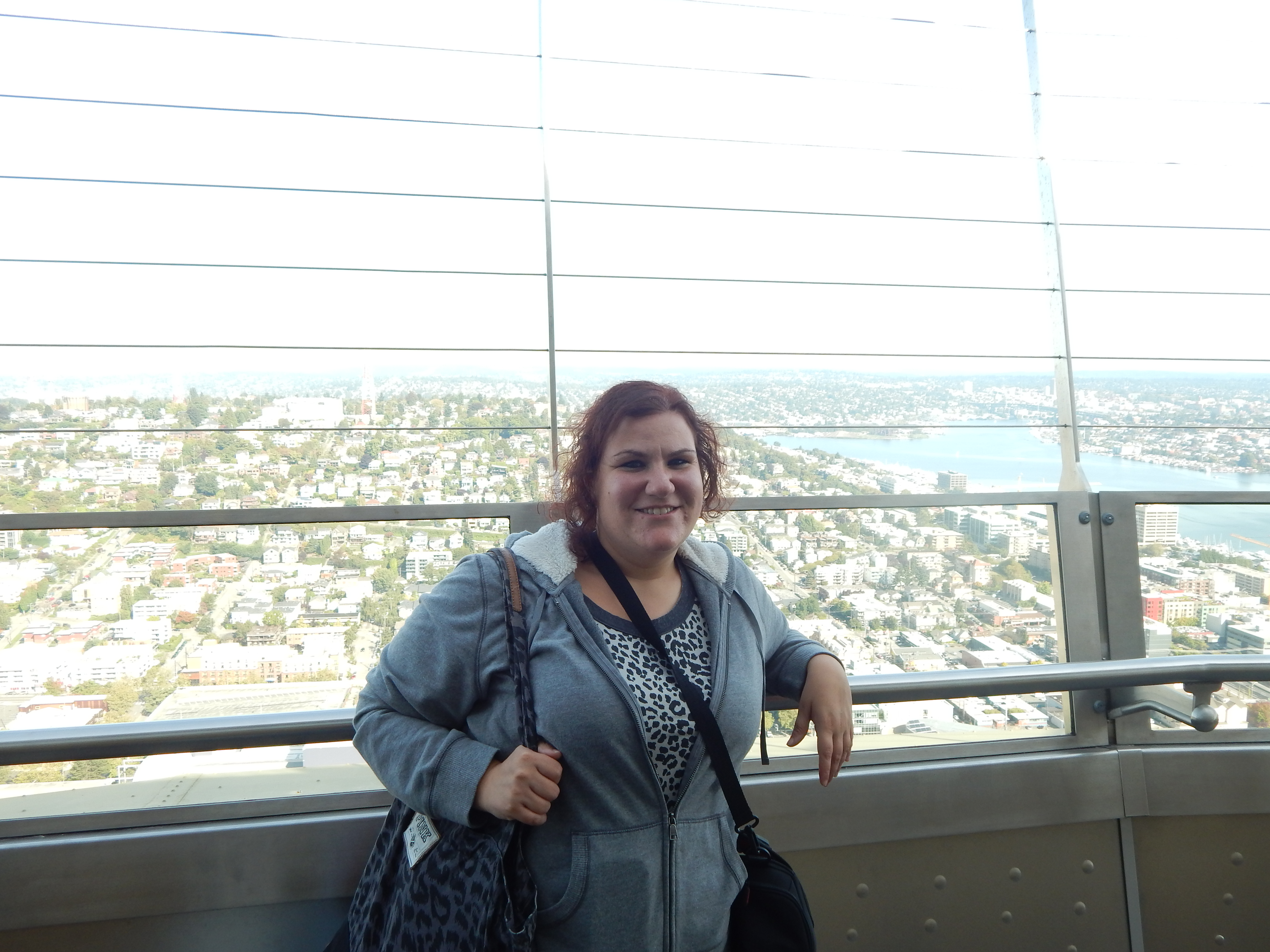At the top of the Space Needle.