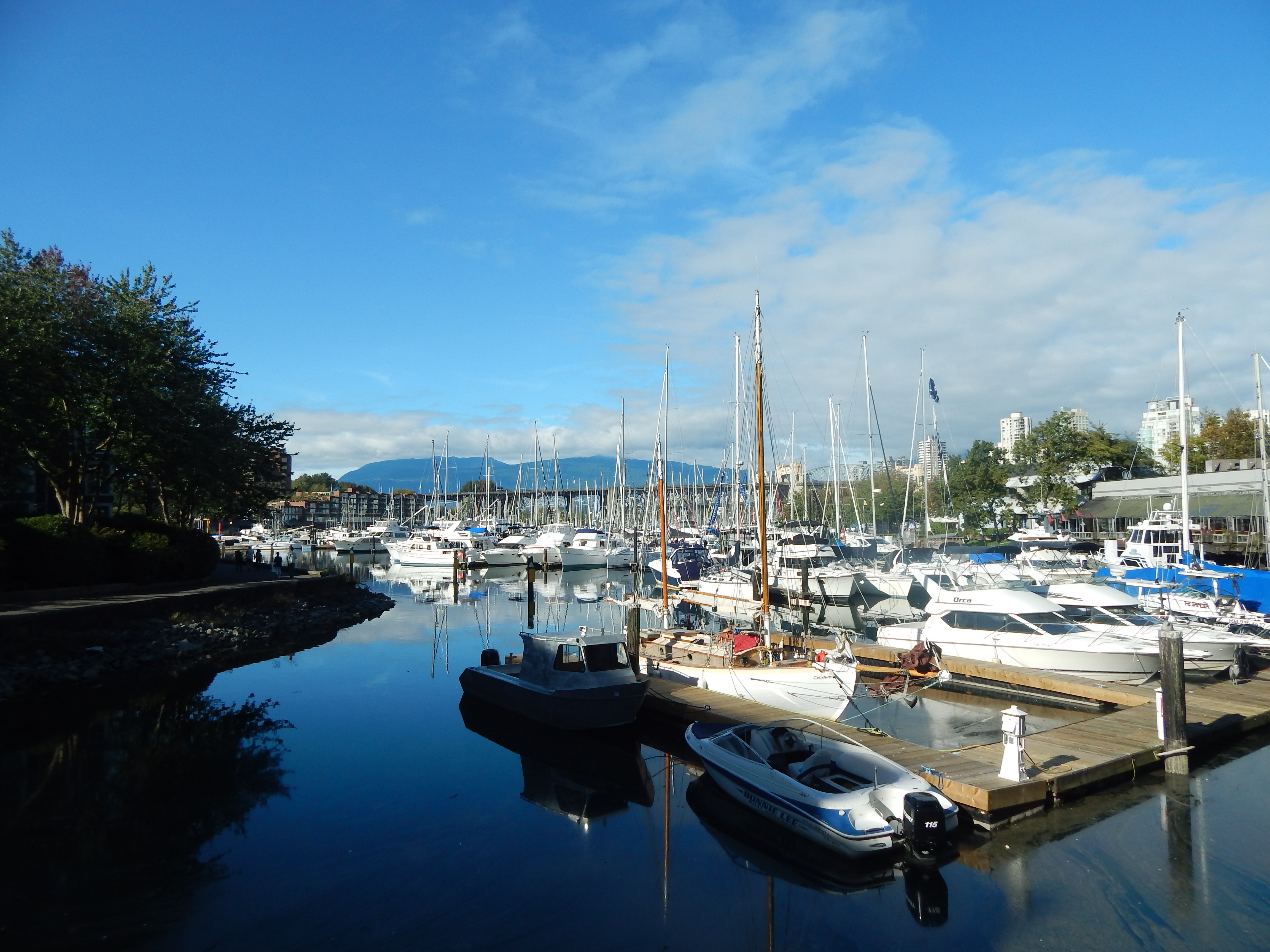 The marina at Granville Island