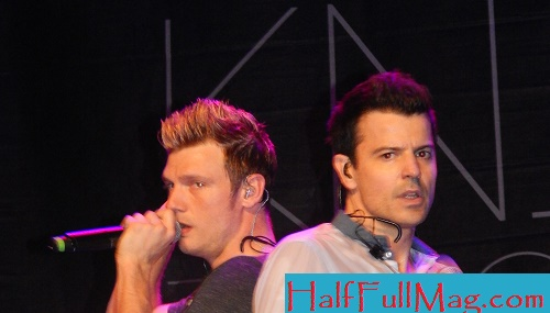 Nick Carter and Jordan Knight. For more photos, scroll down.