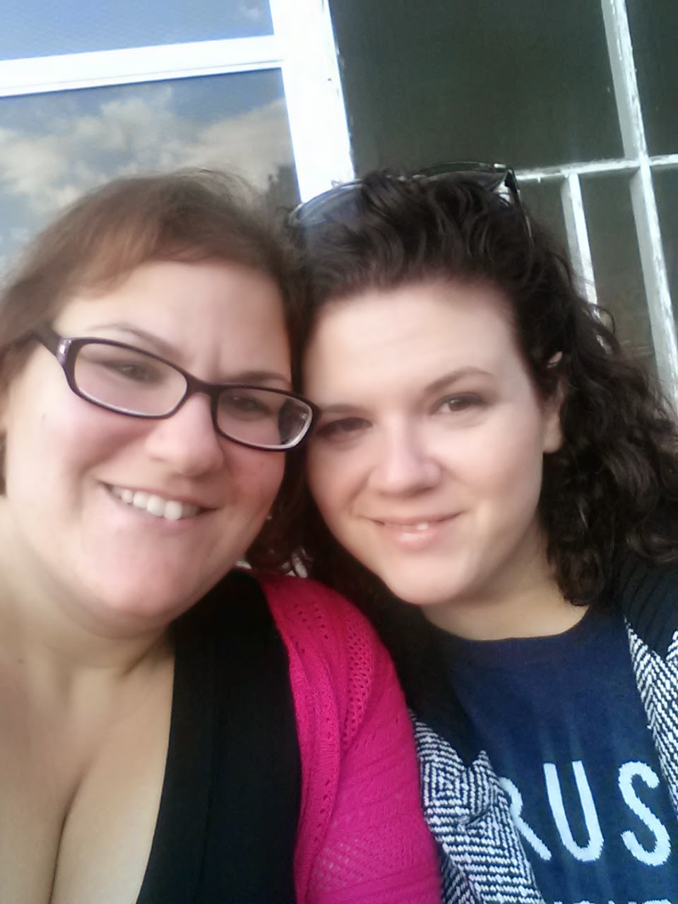 Me and Natalie on Thanksgiving.