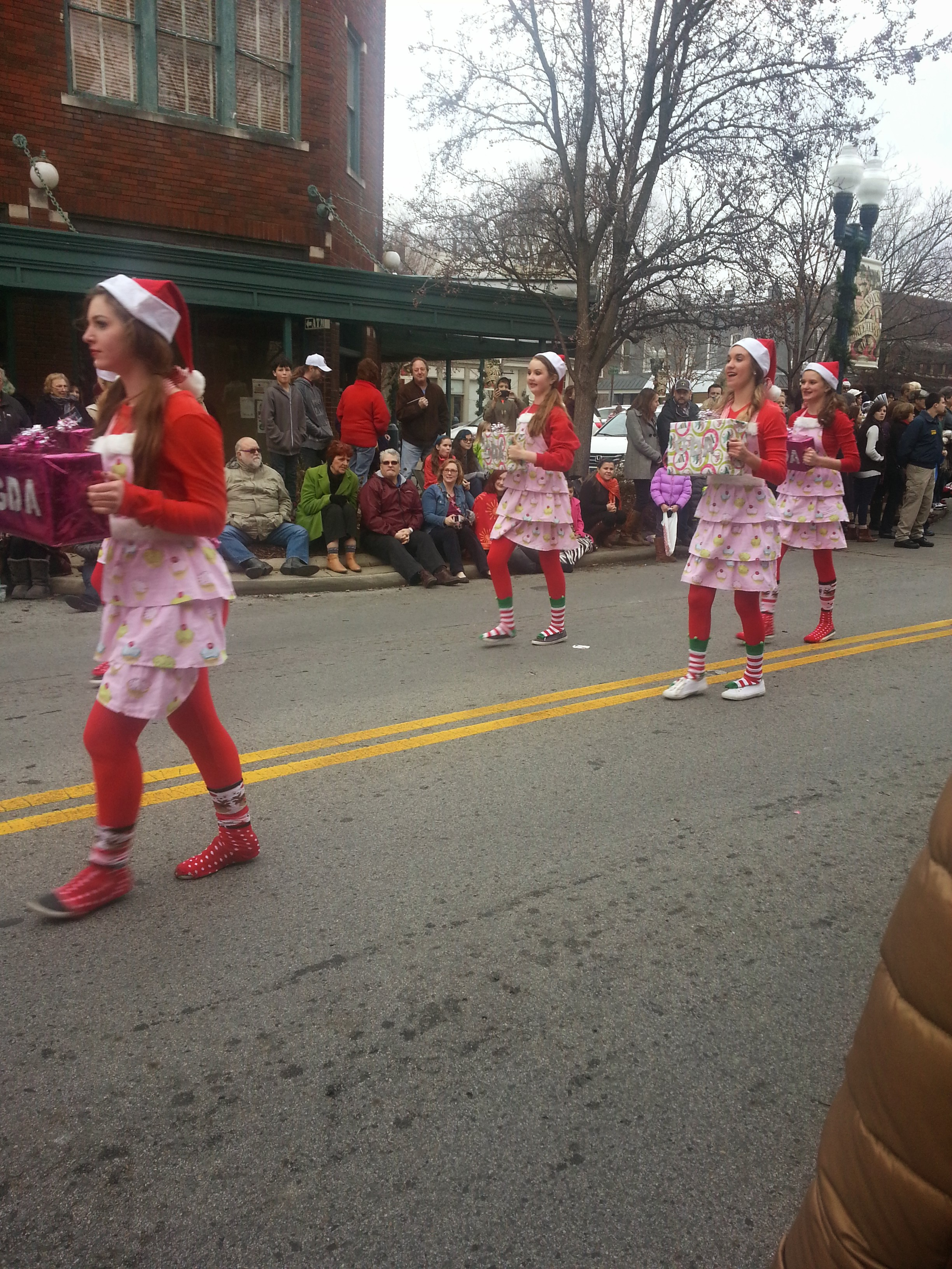 Franklin Christmas Parade.