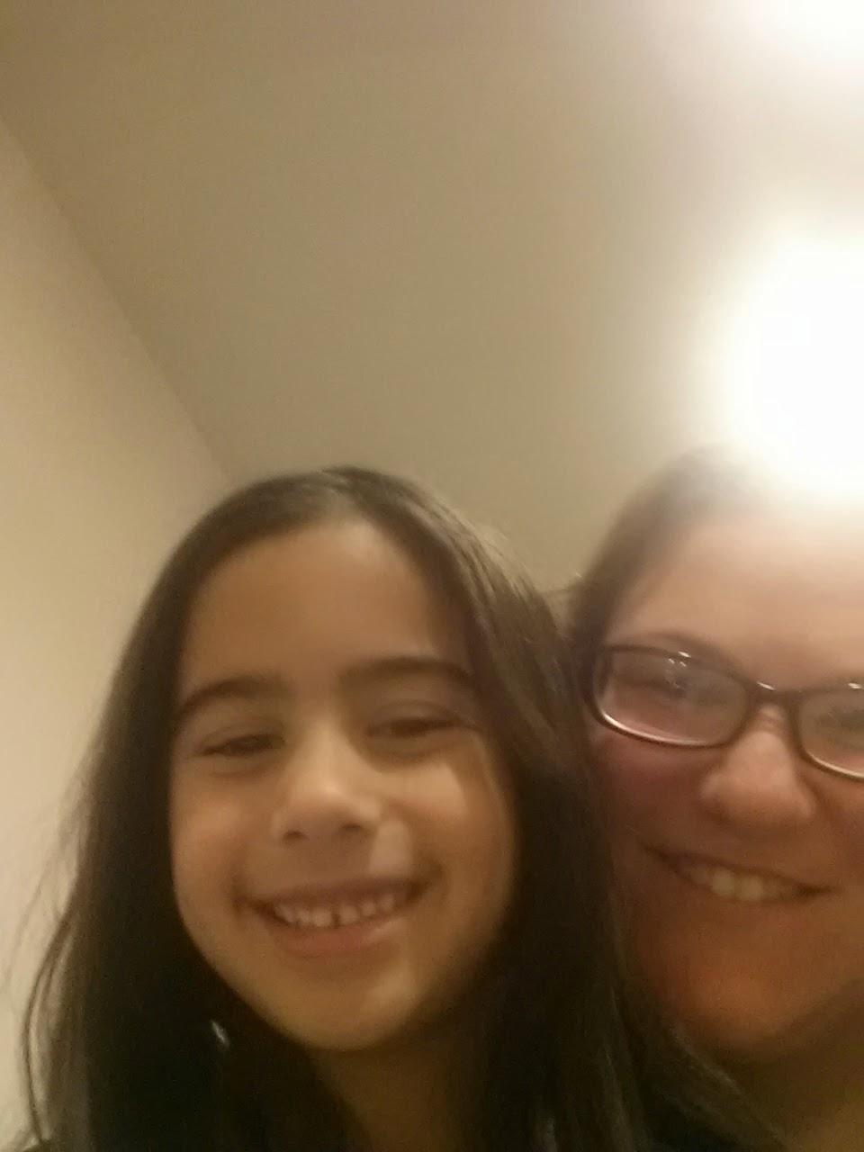 Selfie with my niece Sam. Happy we were reunited!
