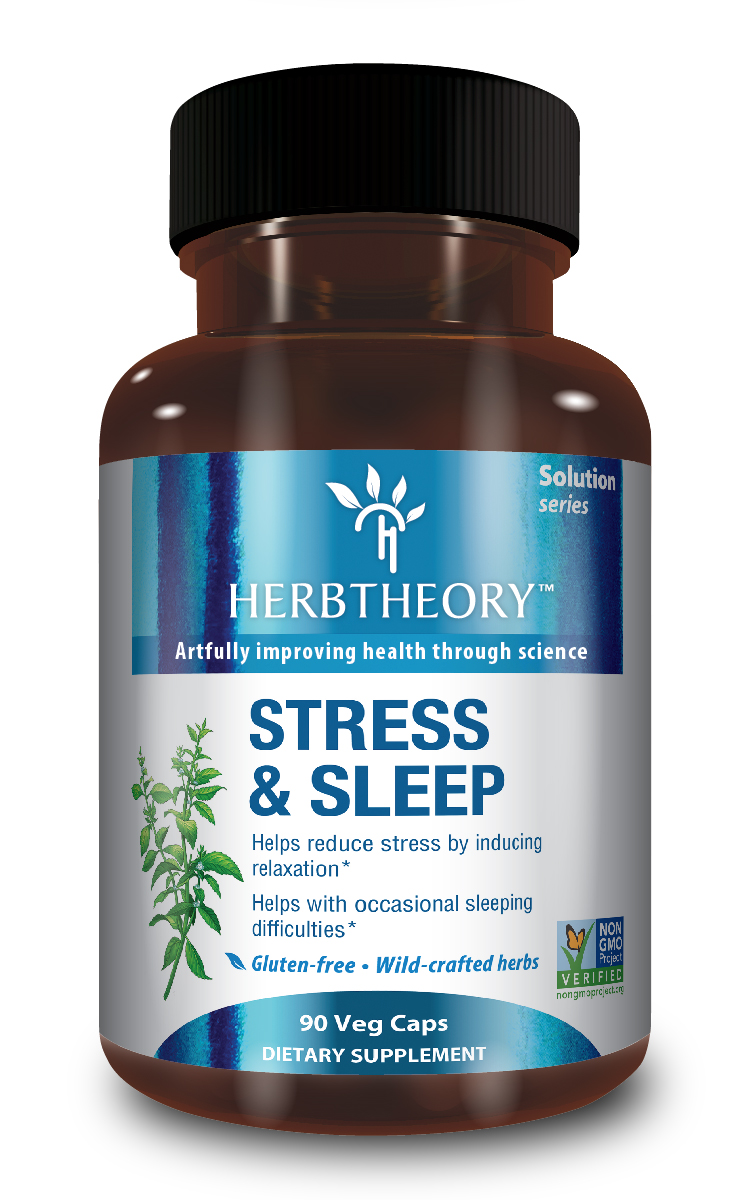 Stress & Sleep - HerbTheory.com, $28.95 is made from wild-crafted herbs.