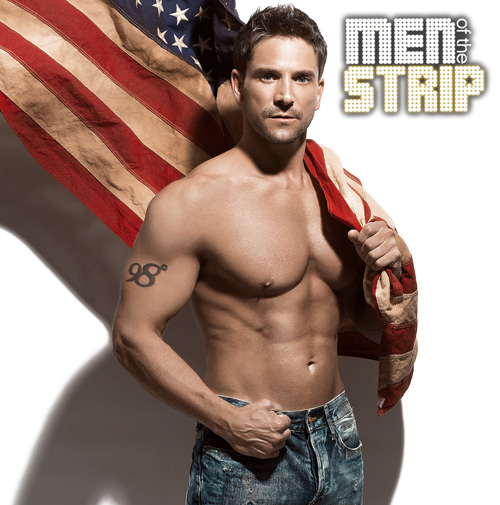 Jeff Timmons Men of the Strip promotional photo.