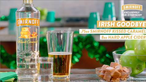 Smirnoff's Irish Goodbye