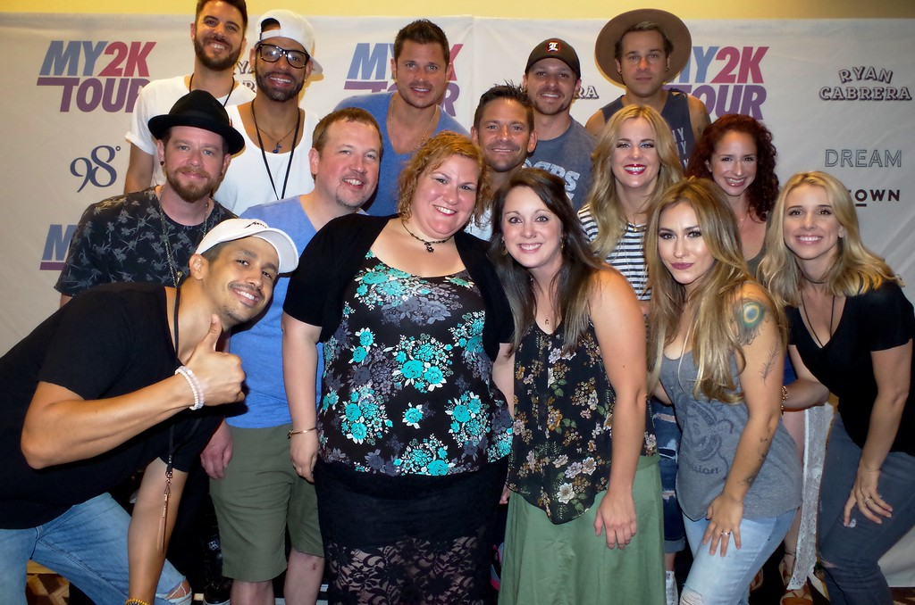 That's My Jam! Radio's Sandy Lo + Kindell Moore with 98 Degrees, O-Town, Dream + Ryan Cabrera