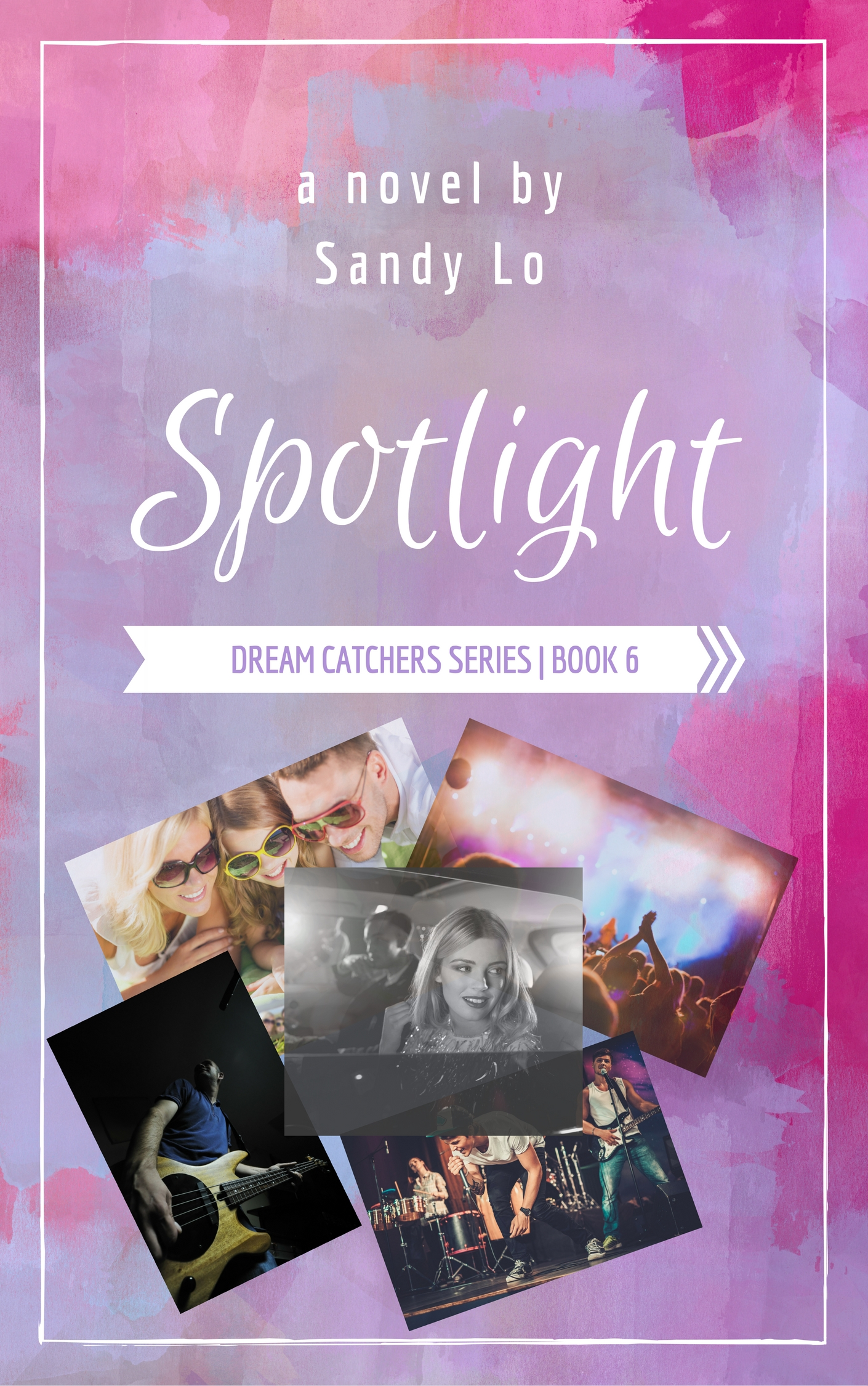 Spotlight Book Cover - Sandy Lo
