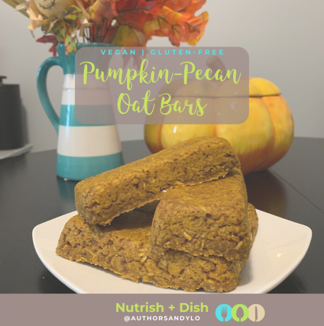 Pumpkin-Pecan Oat Bars
